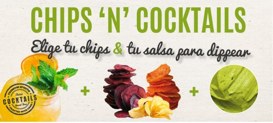 Cocktails & Chips saludables
